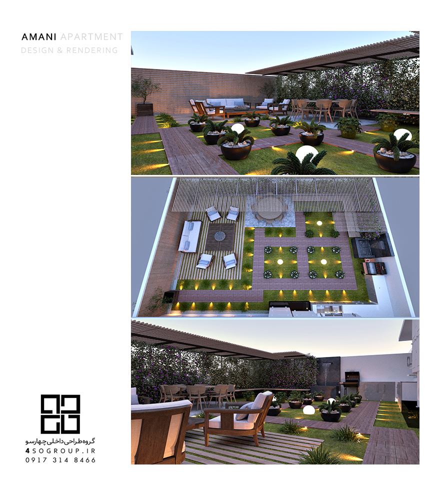 دکوراسیون داخلی آپارتمان مسکونی خانواده امانی_02