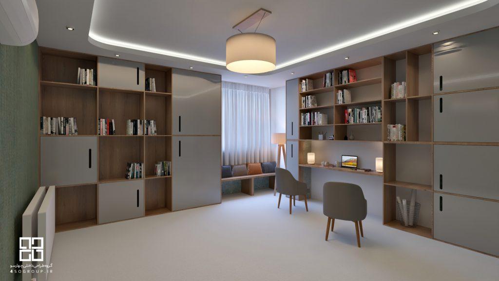 دکوراسیون داخلی آپارتمان مسکونی خانواده امانی_10