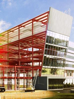 مدلسازی پروژه ساختمانی با BIM