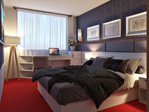 طراحی دکوراسیون داخلی هتل آریانا شیراز
