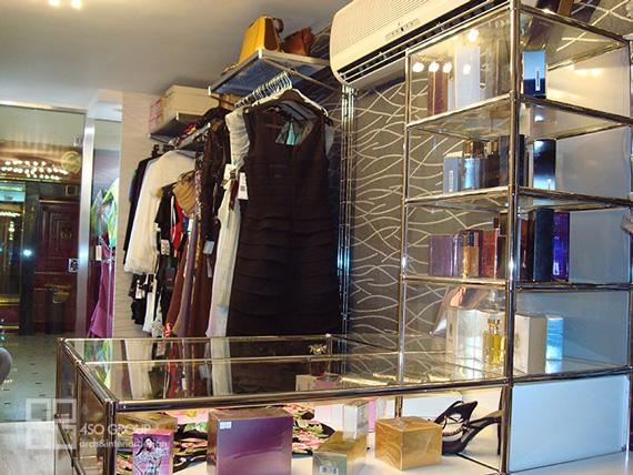 طراحی دکوراسیون مدولار فروشگاه ماژ اصفهان